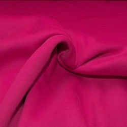 Tissu sweat uni X10cm - fuchsia  - 1Tissusweat molletoné -fuchsia 70% coton , 30% polyester Certifié Oeko-Tex Laize d'1m40 Le