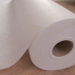 Entoilage épais thermocollant X10cm - intissé blanc  - 1Entoilage intissé thermocollant - blanc Laize de 0m90 Base viscose, endu