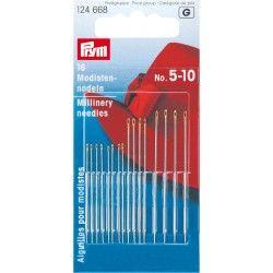 Aiguilles à coudre mode n° 5-10 Prym Prym - 1Assortiment de 16 aiguilles à coudre , 3 tailles différentes Spécial mode (aiguill