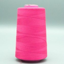 Cône de fil fuchsia 4573m polyester pour tout coudre  - 1cône de fil colorisfuchsia Bobine de 4573m, polyester pour tout coudre