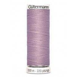 Bobine de fil vieux rose foncé 568 Gütermann 200m polyester pour tout coudre Gütermann - 1Bobine de fil vieux rosefoncé coloris