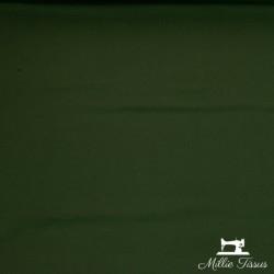 Tissu jersey uni X10cm - kaki  - 2Tissu jerseyuni - kaki 92% coton 8% élasthanne Laize d'1m50 - certifié OekoTex Le tissu est v