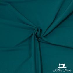Tissu jersey uni X10cm - bleu canard  - 1Tissu jerseyuni -bleu canard 92% coton 8% élasthanne Laize d'1m50 - certifié OekoTex