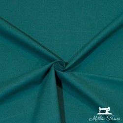 Tissu ameublement coton uni X10cm - Paon  - 1Tissu coton d'ameublement -paon 100%coton , certifié OekoTex Laize d'1m50 Le tissu