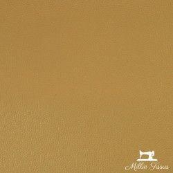 Simili cuir Dolaro X10cm - Miel  - 1Simili cuir ameublement irisé -miel 78% PVC, 20% Polyester, 2% Polyuréthane Laize d'1m40 Ce