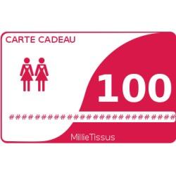 Carte cadeau 100  - 1