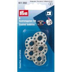 Canettes métal pour boîtier CB canette centrale Prym Prym - 15 canettes métalliques compatibles avec le boîter CB , système le p