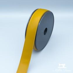 Sangle simili cuir 30mm - safran  - 1Sangle simili cuir -safran 30mm de largeur 100% polyuréthane 1 unité = 0m50; pour plusieu