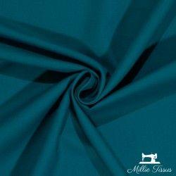 Tissu coton uni X10cm- bleu canard  - 1Tissu coton -bleu canard 100%coton , certifié OekoTex Laize d'1m45 Le tissu est vendu p