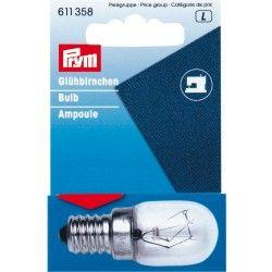 Ampoule à visser 15w Prym Prym - 1Ampoule pour machine à coudre 15watts / 220volt Douille à visser 55mm , diamètre : 12mm Access