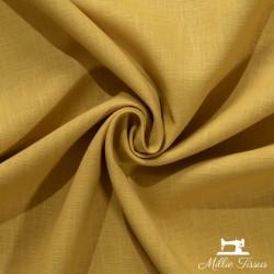 Tissu ramie uni X10cm - ocre  - 1Tissu ramie uni -ocre 100% ramie Laize d'1m38 Le tissu est vendu par multiple de 10cm x 138cm