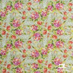 Tissu coton 365 Fifth Avenue Fleurs X10cm - Violet Art Gallery Fabrics - 1Tissucoton365 Fifth Avenue Fleurs - violet 100% coto