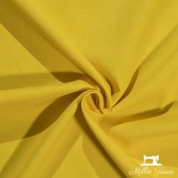 Tissu coton uni X10cm - jaune  - 1Tissu coton - jaune 100%coton , certifié OekoTex Laize d'1m45 Le tissu est vendu par multiple