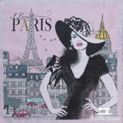 Carré jacquard Audrey X10cm - rose  - 1Coupon carré de tissus jacquard - Audrey rose 100% polyester Dimension : 45cm X 45cm (+/-
