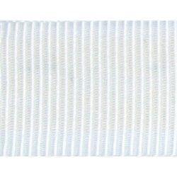 Gros grain blanc  - 1Galon gros grain blanc 10 mm / 15 mm de largeur 1 unité = 0m50 ; pour plusieurs longueurs achetées, vous r