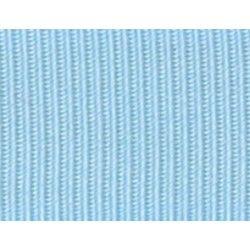Gros grain bleu ciel  - 1Galon gros grainbleu ciel 10 mm / 15 mm de largeur 1 unité = 0m50 ; pour plusieurs longueurs achetées