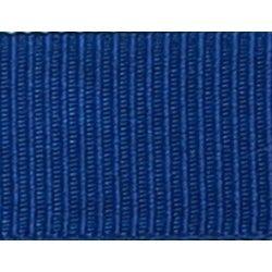 Gros grain bleu roi  - 1Galon gros grainbleu roi 10 mm / 15 mm de largeur 1 unité = 0m50 ; pour plusieurs longueurs achetées,