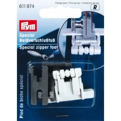 Pied de biche pour les fermetures à glissières Prym Prym - 1Pied de bicheindispensable pour le montage de la fermeture invisibl