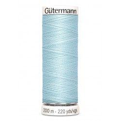 Bobine de fil bleu ciel 194 Gütermann 200m polyester pour tout coudre Gütermann - 1Bobine de fil bleu ciel coloris194 Bobine de