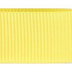 Gros grain jaune  - 1Galon gros grain jaune 10 mm / 15 mm de largeur 1 unité = 0m50 ; pour plusieurs longueurs achetées, vous r