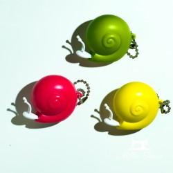 Centimètre enrouleur 100cm - Escargots  - 1Centimètre enrouleur escargot - 100cm Vendu à l'unité Selon couleur disponible (rose,
