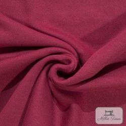 Tissu sweat uni X10cm - Bordeaux  - 1Tissusweat molletoné - bordeaux 70% coton , 30% polyester Certifié Oeko-Tex Laize d'1m40