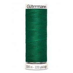 Bobine de fil vert 402 Gütermann 200m polyester pour tout coudre Gütermann - 1Bobine de fil vert coloris 402 Bobine de 200m, pol