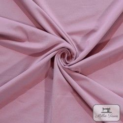 Tissu jersey uni X10cm - Romance  - 1Tissu jerseyuni -Romance 92% coton 8% élasthanne Laize d'1m50 - certifié OekoTex Le tissu