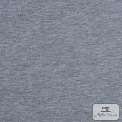 Tissu sweat uni X10cm - gris  - 2Tissusweat molletonné -gris envers blanc 70% coton , 30% polyester Laize d'1m40 Le tissu est