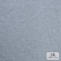 Tissu sweat uni X10cm - gris  - 4Tissusweat molletonné -gris envers blanc 70% coton , 30% polyester Laize d'1m40 Le tissu est
