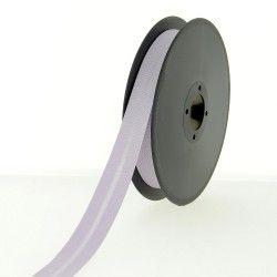 Biais polycoton 20mm - lilas  - 1Biaislilas Largeur 20mm 50% coton - 50% polyester 1 unité = 0m50; pour plusieurs longueurs ac