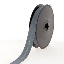 Biais polycoton 20 mm- gris anthracite  - 1Biaisgris anthracite Largeur 20mm 50% coton - 50% polyester 1 unité = 0m50; pour pl