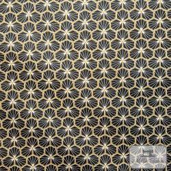 Tissu coton cretonne enduit Riad X10cm - Noir  - 1Tissucretonne enduitRiad -noir 100% coton Laize d'1m60 Le tissu est vendu