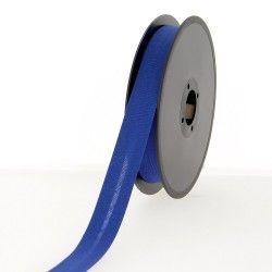 Biais polycoton 20mm - bleu roi  - 1Biaisbleuroi Largeur 20mm 50% coton - 50% polyester 1 unité = 0m50; pour plusieurs longue