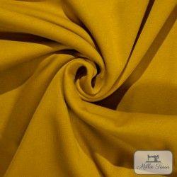 Tissu sweat uni X10cm - Moutarde  - 1Tissusweat molletoné - moutarde 70% coton , 30% polyester Certifié Oeko-Tex Laize d'1m40