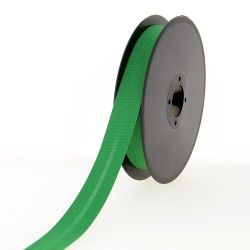 biais polycoton 20mm vert prairie
