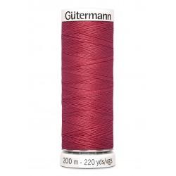 Bobine de fil bordeaux clair 82 Gütermann 200m polyester pour tout coudre Gütermann - 1Bobine de filbordeaux clair coloris 82 B