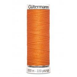 Bobine de fil roux 285 Gütermann 200m polyester pour tout coudre Gütermann - 1Bobine de fil roux coloris 285 Bobine de 200m, pol