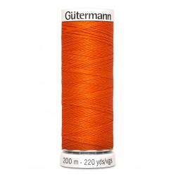 Bobine de fil citrouille 351 Gütermann 200m polyester pour tout coudre Gütermann - 1Bobine de fil citrouille coloris 351 Bobine
