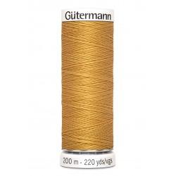 Bobine de fil moutarde 968 Gütermann 200m polyester pour tout coudre Gütermann - 1Bobine de filmoutarde coloris968 Bobine de 2
