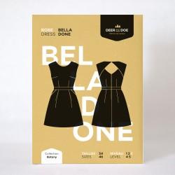 Patron robe Belladone - Deer&Doe Deer&Doe - 1Patron de robe Belladone, collection Botany, de la marque Deer and DoeGrâce à ce pa