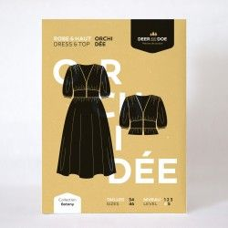 Patron robe Orchidée - Deer&Doe Deer&Doe - 1Patron de la robe et haut Orchidée, collection Botany, de la marque Deer and DoeLe m