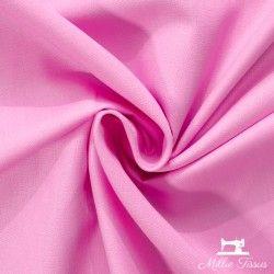 Tissu coton uni X10cm - Bubble gum  - 1Tissu coton -rose bubble gum 100%coton , certifié OekoTex Laize d'1m45 Le tissu est ven