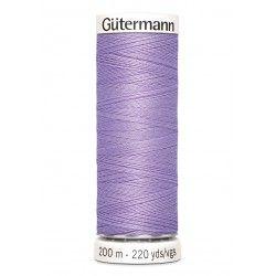 Bobine de fil mauve 158 Gütermann 200m polyester pour tout coudre Gütermann - 1Bobine de filmauve coloris 158 Bobine de 200m, p