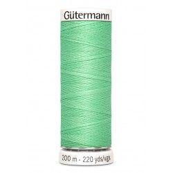 Bobine de fil vert pomme 205 Gütermann 200m polyester pour tout coudre Gütermann - 1Bobine de fil vert pomme coloris 205 Bobine