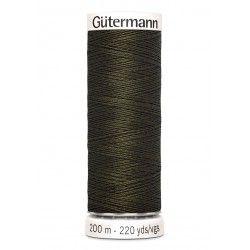 Bobine de fil marron 531 Gütermann 200m polyester pour tout coudre Gütermann - 1Bobine de fil marron coloris 531 Bobine de 200m,