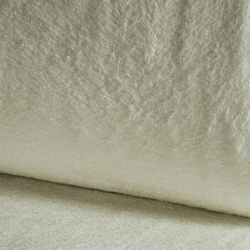 Eponge Californie X10cm- écru  - 1Tissuéponge Californie, écru 90% coton 10% polyester, certifié OekoTex Laize d'1m42 Le tissu