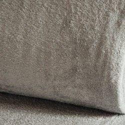 Eponge Californie X10cm- gris clair  - 1Tissuéponge Californie, gris clair 90% coton 10% polyester, certifié OekoTex Laize d'1m