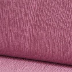 Tissu Double gaze coton X10cm- Romance  - 1Double Gazerose romance 100%coton , certifié OekoTex Laize d'1m30 Le tissu est vendu