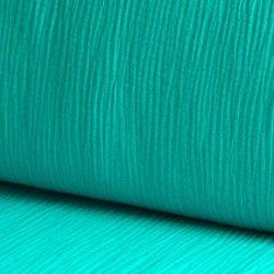Tissu double gaze coton turquoise